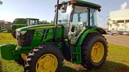 Trator novo 5090E John Deere ano 2021 Gabinado