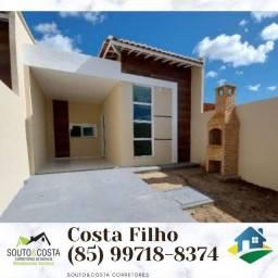 Casa moderna R$ 144.999 Mill - Fortaleza