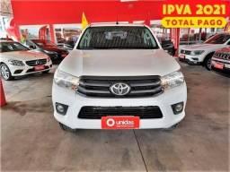 Título do anúncio: Toyota hilux 2.8 std 4x4 cd 16v diesel 4p manual