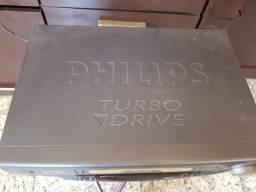 Vídeo cassete Philips 6 cabeças funcionando!