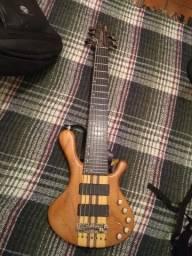 baixo ledur (contrabaixo, luthier, ñ ibanez)
