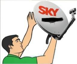 Técnico sky campo grande