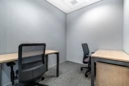 Trabalhe do seu jeito em um escritório privativo exclusivo para você
