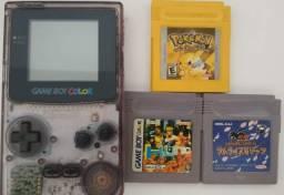 Gameboy Color Original + 3 fitas *Relíquita* (em ótimo estado)