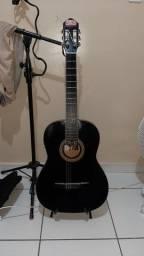 Vende se um violão  elétrico co circuito da fishiman