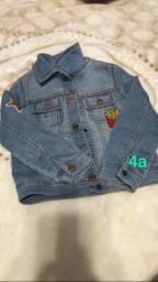 Jaqueta jeans -  4 anos