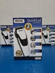 Máquina de cortar cabelo wahl Quick cut profissional barbeiro salão curso