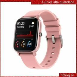 Smartwatch Colmi P8 batimentos cardíacos vários modos esporte prova dágua