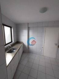Título do anúncio: Apartamento com 3 quartos para alugar, 94 m² por R$ 4.500/mês - Boa Viagem - Recife/PE