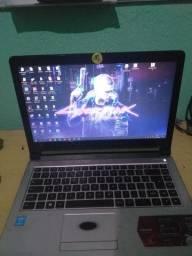 Notebook core i3 4 geração 6gb de Ram