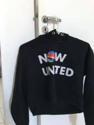 Moletom cropped now united