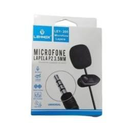 Microfone De Lapela P2 Ley-205 - Lehmox