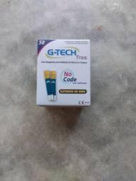50 Fitas do G.TECH FREE Para Medir Glicose Diabete