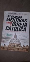 Vendo livro - As grandes mentiras sobre a igreja católica
