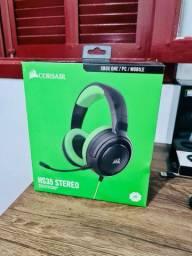Headset Gamer Corsair HS35 Stereo XONE/PS4/PC/Mobile Preto/Verde, CA-9011197-NA