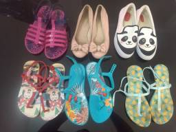 Sapatos para menina