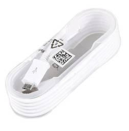 Cabo USB Carregador rápido original para Samsung Galaxy/S7/Edge - 1.5m - Branco