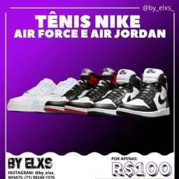 Tênis Nike Air Force e Jordan - Últimas unidades