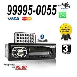 Som Automotivo Bluetooth Rádio Fm Mp3 Usb Sd 4 Rca M:knup kp c22