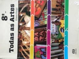 Livro: Todas as Artes - 8 ano (Eliana pougy)