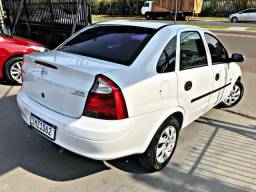 Corsa sedan 2006 branco IMPECAVEL completo - v.e - 2006