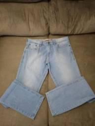 Calça Jeans / Marca Angelo Litrico / Cor Azul Claro / Tamanho 42