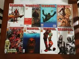 Coleção de revistas em quadrinhos Deadpool