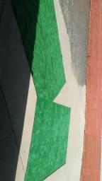 3 tapetes de grama sintética novo