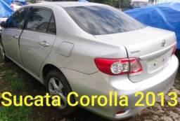Sucata Corolla 2013