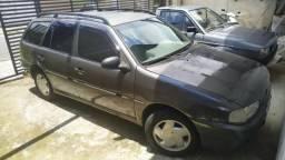 Parati Bola 4 portas Cinza 1.6 Mi Completa - Ar, direção hidraulica, vidro e trava - 1999