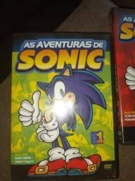 DVDS As aventuras de Sonic