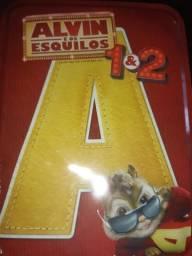 Lata de DVD Alvin e os esquilos