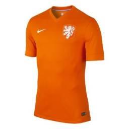 Camisa Holanda Copa do Mundo 2014 Original Nike 9102b5248d581