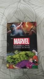 Box Marvel - Guerra Civil e Guerras Secretas - Acompanha Pôster - Em Ótimo Estado