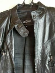 Jaqueta da zoomp com elástico na cintura 134fd46fc3993