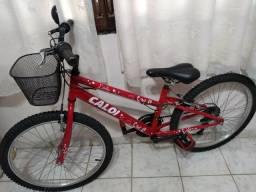 Bicicleta aro 24 caloi ceci estado de nova pegar e andar!!!