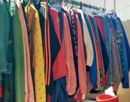 Confecção - vendo lote de casacos moletom