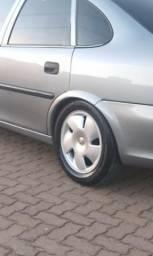 Rodas com pneus 15 semi novos