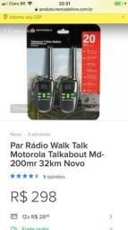 Vendo rádio comunicador
