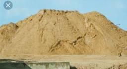 Areia branca ou amarela, areola e pedra, baixou preço