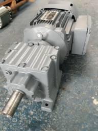 Motor elétrico motofreio 1.5 cv redução 1/13.