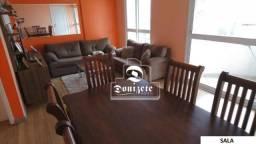 Apartamento com 3 dormitórios à venda, 106 m² por R$ 795.000,00 - Casa Branca - Santo Andr