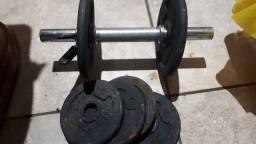 Pesos para musculação
