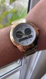 Lindo relógio Atlantis digital e analógico com desconto pra hoje.