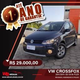 VW CrossFox GII 1.6 8v Flex