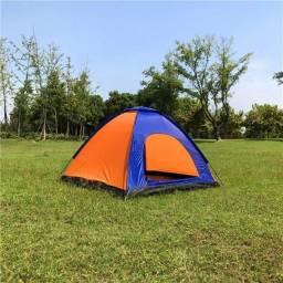 NOVO- Barraca Camping P/ 3 Pessoas - 2.00x2,00x1.45mt