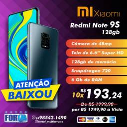 Note 9s 128GB/6GB Xiaomi
