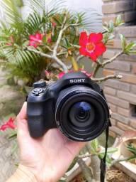 Vendo câmera Sony super zoom