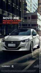 New 208 - Primeira parcela para 2021 e Fipe no seu Seminovo