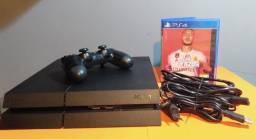 PS4 SONY PLAYSTATION 4 (preto)<br><br>